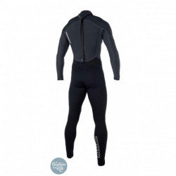 Brand 3/2 Fullsuit Backzip Flatlock