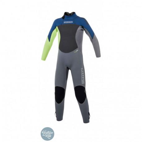 Star Junior 3/2 Fullsuit Backzip Flatlock